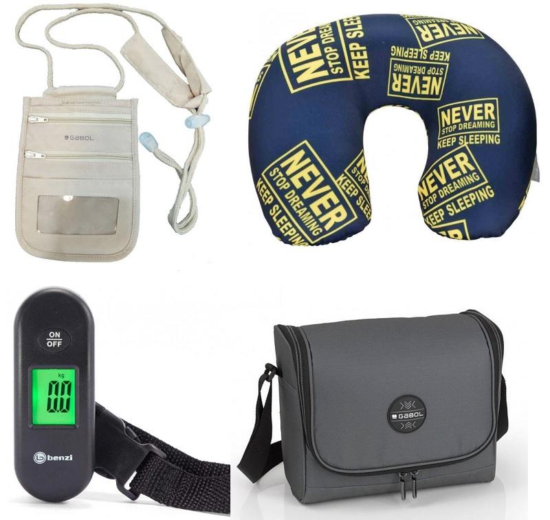accesorios para el viaje